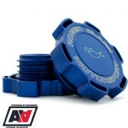 RCM Blue Billet Oil Filler Cap